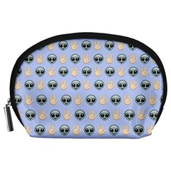 Alien Pattern Accessory Pouches (large)  by Onesevenart