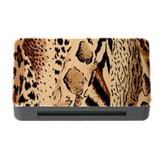 Animal Fabric Patterns Memory Card Reader With Cf by Onesevenart