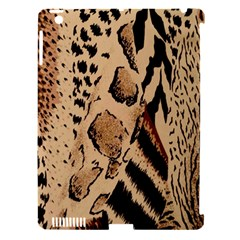 Animal Fabric Patterns Apple Ipad 3/4 Hardshell Case (compatible With Smart Cover) by Onesevenart