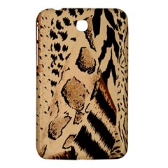 Animal Fabric Patterns Samsung Galaxy Tab 3 (7 ) P3200 Hardshell Case  by Onesevenart