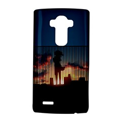 Art Sunset Anime Afternoon Lg G4 Hardshell Case by Onesevenart