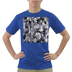 Army Camo Pattern Dark T Shirt by Onesevenart