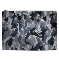 Army Camo Pattern Cosmetic Bag (xxl)  by Onesevenart