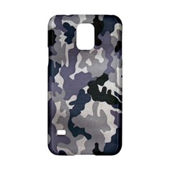 Army Camo Pattern Samsung Galaxy S5 Hardshell Case  by Onesevenart