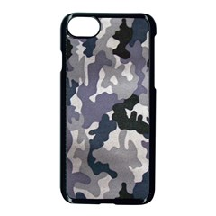 Army Camo Pattern Apple Iphone 7 Seamless Case (black) by Onesevenart