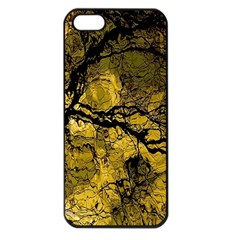 Colorful The Beautiful Of Traditional Art Indonesian Batik Pattern Apple Iphone 5 Seamless Case (black) by Onesevenart