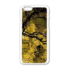 Colorful The Beautiful Of Traditional Art Indonesian Batik Pattern Apple Iphone 6/6s White Enamel Case by Onesevenart