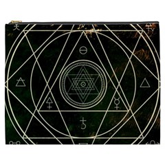 Cult Of Occult Death Detal Hardcore Heavy Cosmetic Bag (xxxl)  by Onesevenart