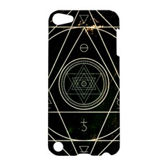 Cult Of Occult Death Detal Hardcore Heavy Apple Ipod Touch 5 Hardshell Case by Onesevenart