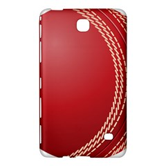 Cricket Ball Samsung Galaxy Tab 4 (8 ) Hardshell Case  by Onesevenart