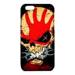 Five Finger Death Punch Heavy Metal Hard Rock Bands Skull Skulls Dark iPhone 6/6S TPU Case
