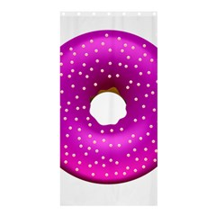 Donut Transparent Clip Art Shower Curtain 36  X 72  (stall)  by Onesevenart