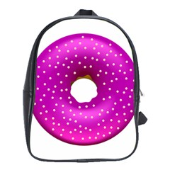 Donut Transparent Clip Art School Bags (xl)  by Onesevenart