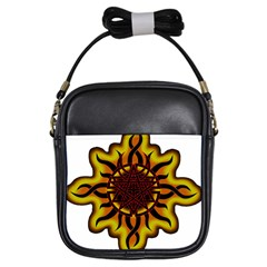Disturbed Is An American Heavy Metal Band Logo Girls Sling Bags by Onesevenart