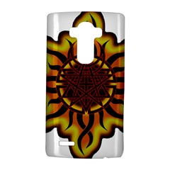 Disturbed Is An American Heavy Metal Band Logo Lg G4 Hardshell Case by Onesevenart