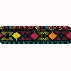 Ethnic Pattern Large Bar Mats by Onesevenart