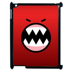 Funny Angry Apple Ipad 2 Case (black) by Onesevenart
