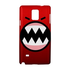 Funny Angry Samsung Galaxy Note 4 Hardshell Case by Onesevenart