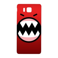 Funny Angry Samsung Galaxy Alpha Hardshell Back Case by Onesevenart