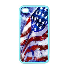 Flag Usa United States Of America Images Independence Day Apple Iphone 4 Case (color) by Onesevenart
