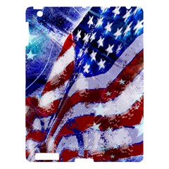 Flag Usa United States Of America Images Independence Day Apple Ipad 3/4 Hardshell Case by Onesevenart
