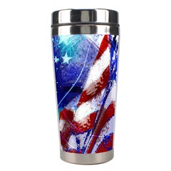 Flag Usa United States Of America Images Independence Day Stainless Steel Travel Tumblers by Onesevenart