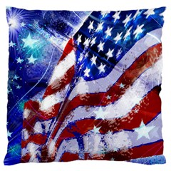 Flag Usa United States Of America Images Independence Day Standard Flano Cushion Case (one Side) by Onesevenart