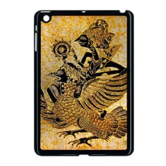 Golden Colorful The Beautiful Of Art Indonesian Batik Pattern Apple Ipad Mini Case (black) by Onesevenart