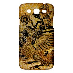 Golden Colorful The Beautiful Of Art Indonesian Batik Pattern Samsung Galaxy Mega 5 8 I9152 Hardshell Case  by Onesevenart