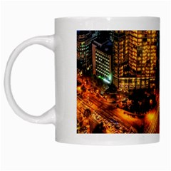 Hdri City White Mugs by Onesevenart