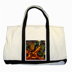 Hdri City Two Tone Tote Bag by Onesevenart