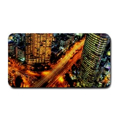 Hdri City Medium Bar Mats by Onesevenart