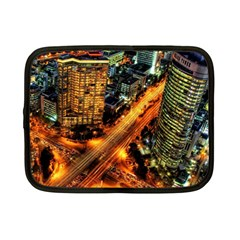Hdri City Netbook Case (small)  by Onesevenart