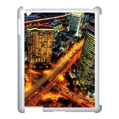 Hdri City Apple Ipad 3/4 Case (white) by Onesevenart