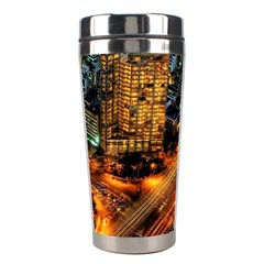 Hdri City Stainless Steel Travel Tumblers by Onesevenart
