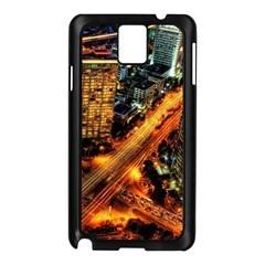 Hdri City Samsung Galaxy Note 3 N9005 Case (black) by Onesevenart
