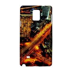Hdri City Samsung Galaxy Note 4 Hardshell Case by Onesevenart