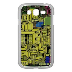 Technology Circuit Board Samsung Galaxy Grand Duos I9082 Case (white) by Onesevenart