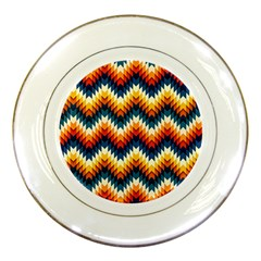 The Amazing Pattern Library Porcelain Plates by Onesevenart