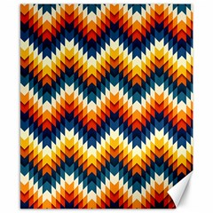 The Amazing Pattern Library Canvas 8  X 10  by Onesevenart
