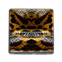 Textures Snake Skin Patterns Memory Card Reader (Square)