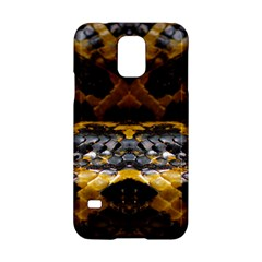 Textures Snake Skin Patterns Samsung Galaxy S5 Hardshell Case  by Onesevenart