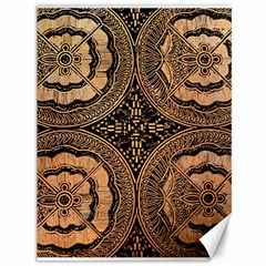 The Art Of Batik Printing Canvas 36  X 48   by Onesevenart