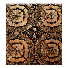 The Art Of Batik Printing Shower Curtain 66  X 72  (large)  by Onesevenart