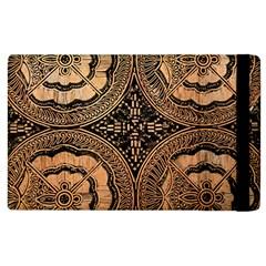 The Art Of Batik Printing Apple Ipad 3/4 Flip Case by Onesevenart