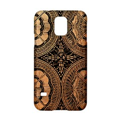 The Art Of Batik Printing Samsung Galaxy S5 Hardshell Case  by Onesevenart