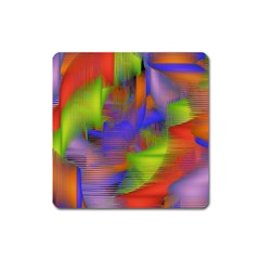 Texture Pattern Programming Processing Square Magnet by Onesevenart