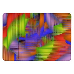 Texture Pattern Programming Processing Samsung Galaxy Tab 8 9  P7300 Flip Case by Onesevenart