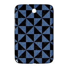 Triangle1 Black Marble & Blue Denim Samsung Galaxy Note 8 0 N5100 Hardshell Case  by trendistuff