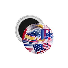 United States Of America Usa  Images Independence Day 1 75  Magnets by Onesevenart